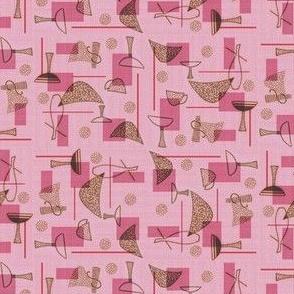 Pink Atomic Wedges
