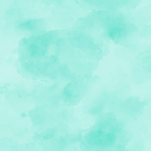 18-06R Deep Mint Jade Green Aqua Blender || Suede Watercolor Textured Grunge Solid _ Miss Chiff Designs