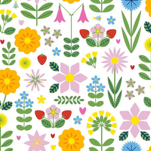 Vilda Blommor (Wildflowers) - Light