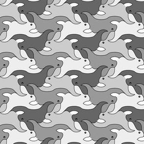 07623768 : rabbit 2g 4 : grey