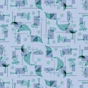 Atomic Blue Wedges