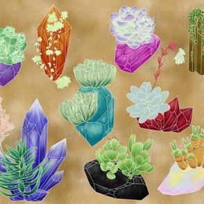 Crystal Succulents - Desert