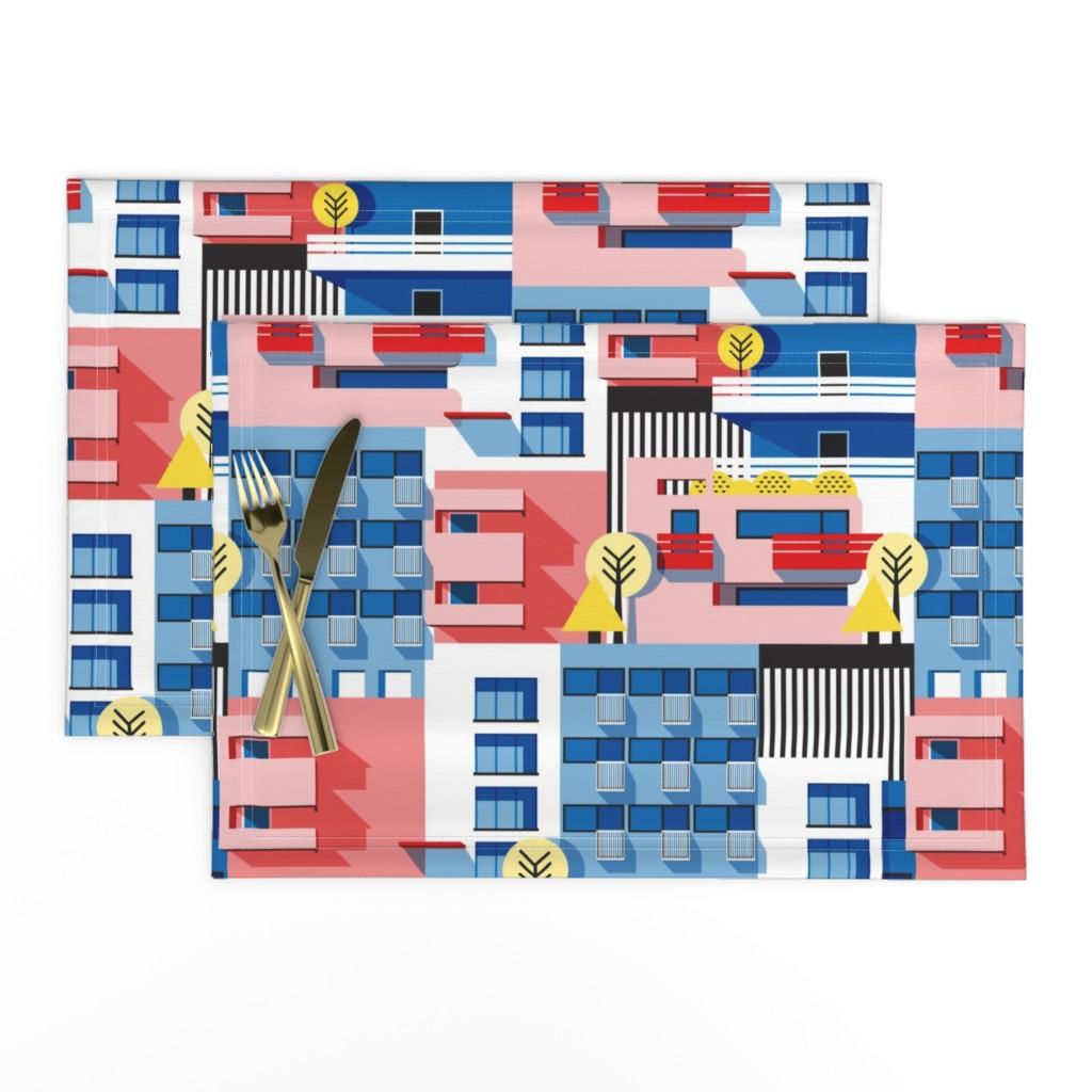 Lamona Cloth Placemats featuring Bauhaus by nanamira
