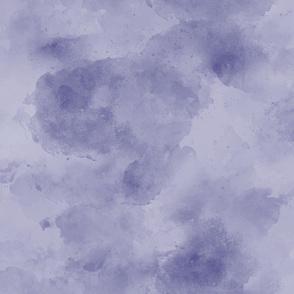 18-06N Dark  Purple Plum Indigo Blue Blender || Watercolor Textured Grunge Solid Quilt Coordinate Faux Suede _ Miss Chiff Designs