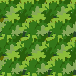 seamless camouflage pattern for textiles