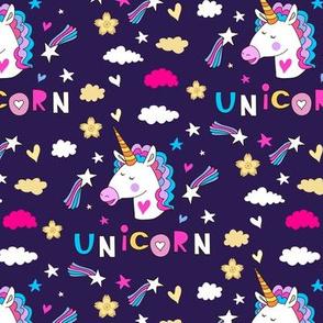 Unicorn pattern18-01