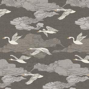 The Wild Swans {Grey}