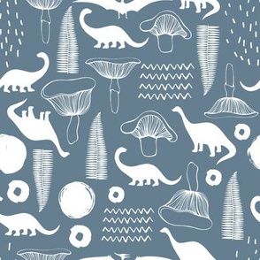 Pattern with dinosaurs