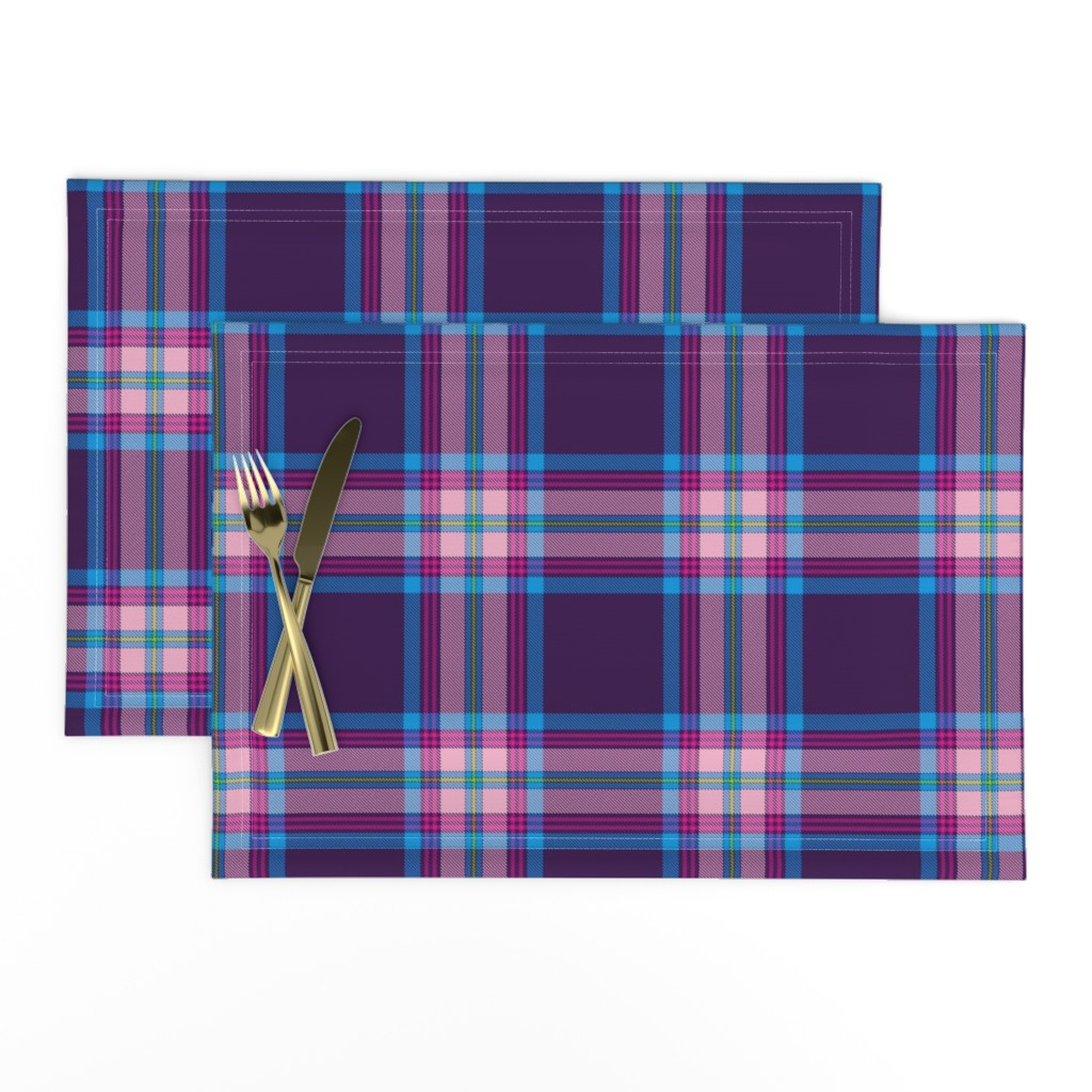 Lamona Cloth Placemats featuring Tramaine Plaid in Gypsy by gigi&mae