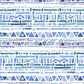 Tribal Geometric Pattern