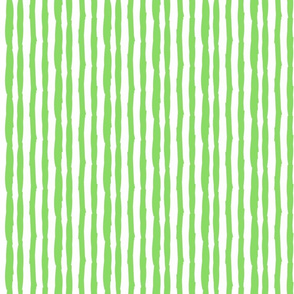Little Paper Straws in Bright Green Vertical