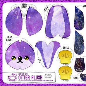 Cut & Sew Otter Plush Galaxy