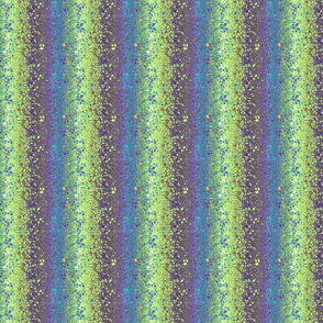 TERRAZZO CHAOS PEBBLES MARBLE 12 stripes AQUATIC SPRING GREEN TURQUOISE DRAGONFLY
