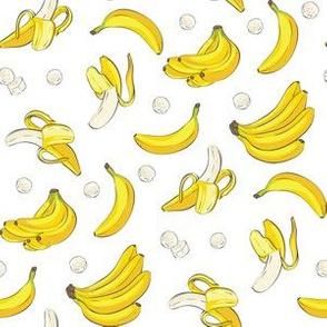bananas white