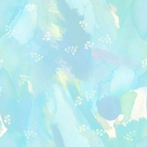 Light Blue Watercolor Texture