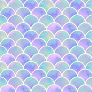 lilac mermaid's scales
