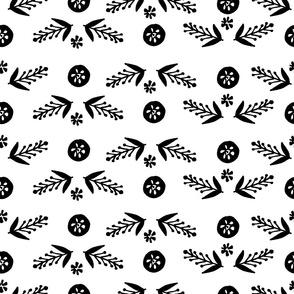 Scandinavian  natural pattern