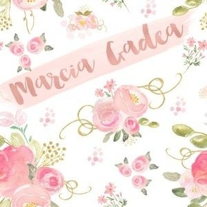 Personalised floral name, baby girl names, baby girl decor, nursery