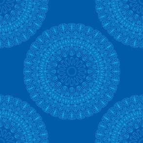 abstract round pattern
