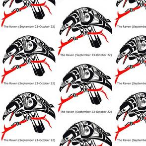 Native American Zodiac The Raven