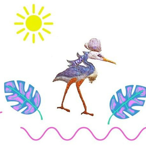 Egyptian Bennu Bird