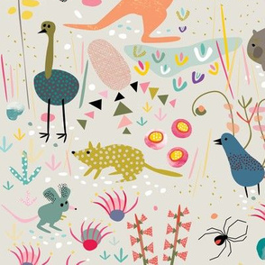 Australian Animals by Mount Vic and Me