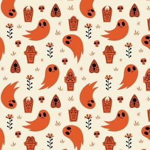 Stay Spooky (White + Orange)