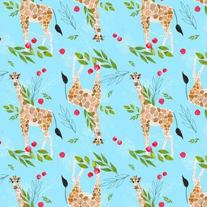 Cherry, cherry lady giraffe