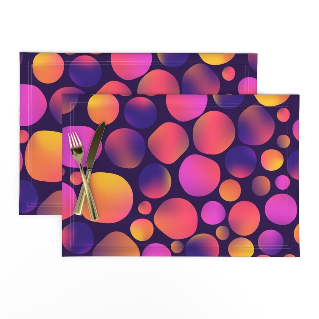 Lamona Cloth Placemats featuring pat1 by sandystorm