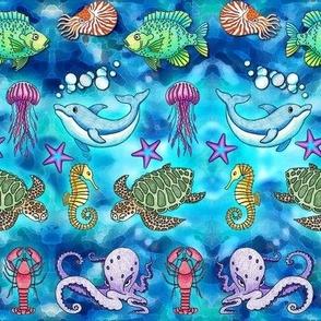 Ocean Animals Galore
