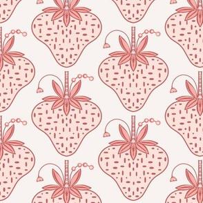 Lush strawberries pink sewindigo
