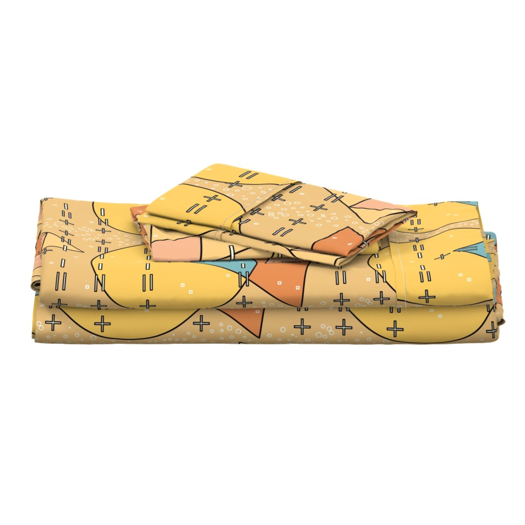 Langshan Full Bed Set featuring Bauhaus - Less is More! by salzanos