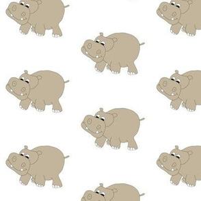 "White Hippo 3"""
