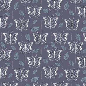 Gray Butterfly