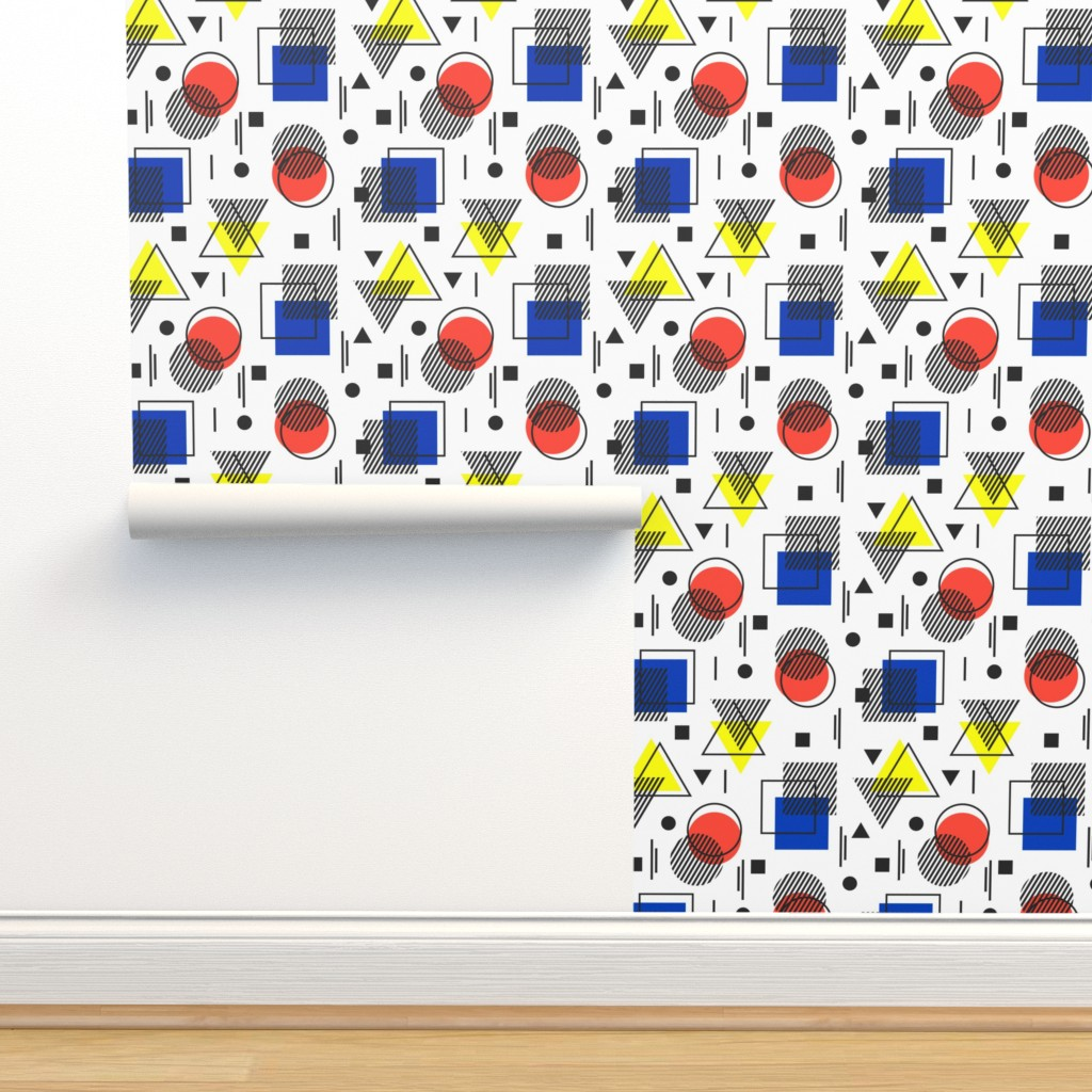 Isobar Durable Wallpaper featuring Bauhaus movement by sandystorm