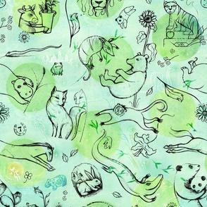 animal dream dots