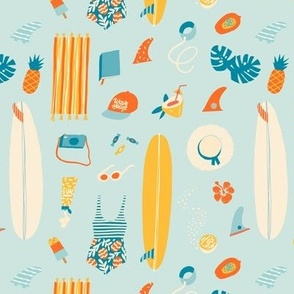 Beach girl kit small scale