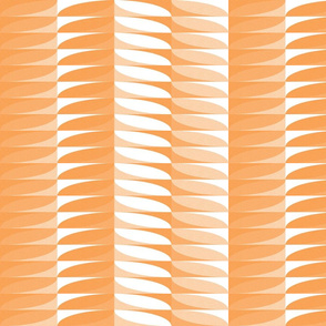 modern geometric stripes in peach