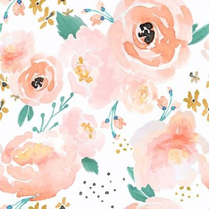 IBD Peachy Punchy Florals C