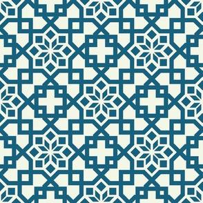 Geometric Linear Arabic Pattern