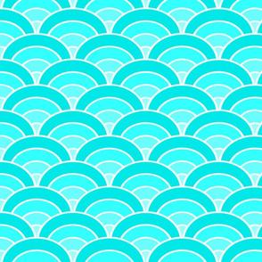 making waves aqua gradient