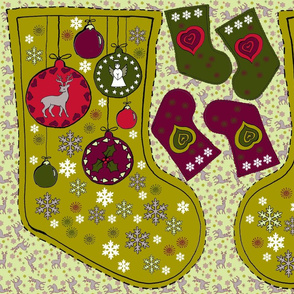 Stocking - Baubles