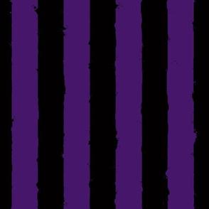 distress stripe black purple