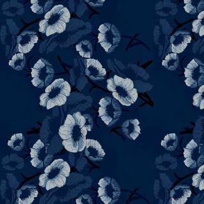 bouquet blue baroque