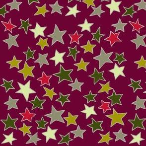 Starry Starry Night Red