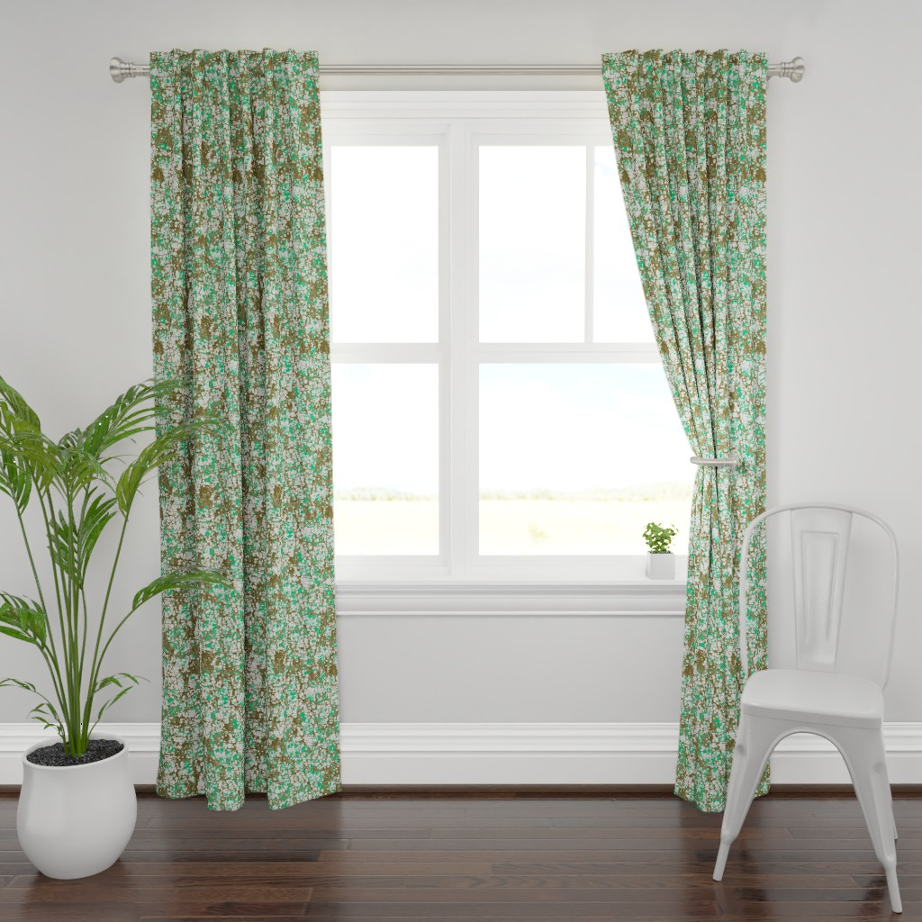 Plymouth Curtain Panel featuring Daydream - Oregon by ormolu