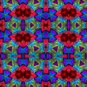 Flower Textiles. large print
