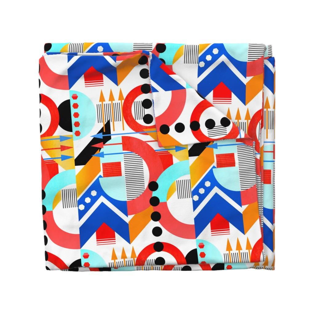 Wyandotte Duvet Cover featuring Bauhaus by jadegordon