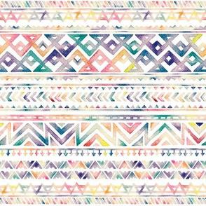 Watercolor Ethnic Pattern