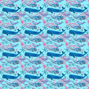 Watercolour sealife